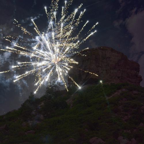 Fireworks Show Castle Rock, CO