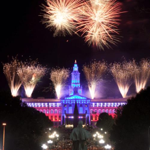 Denver CO Fireworks Show