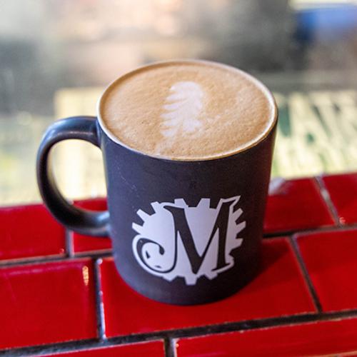Original Latte at Mutiny Coffee