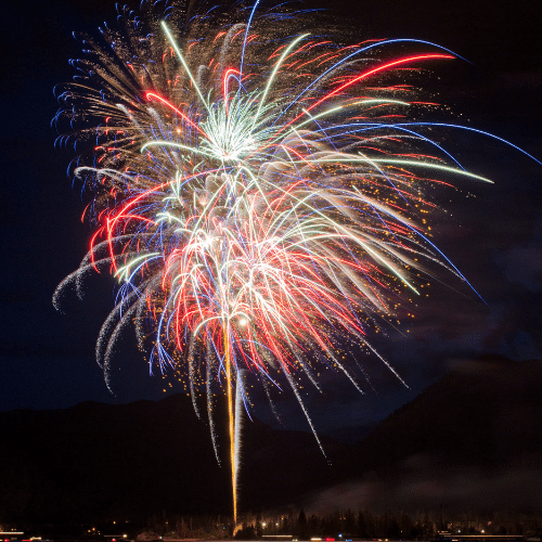 Commerce City Denver Fireworks Show
