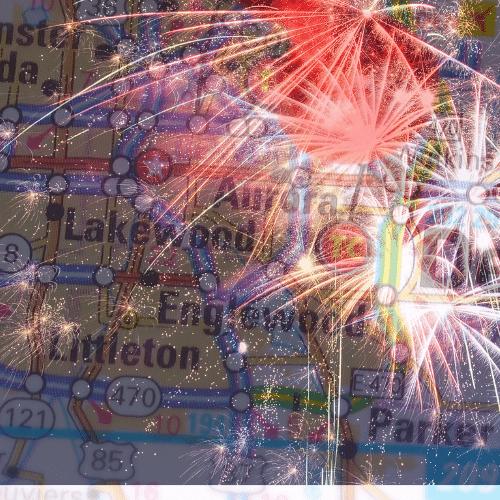 Lakewood, Colorado Fireworks Show
