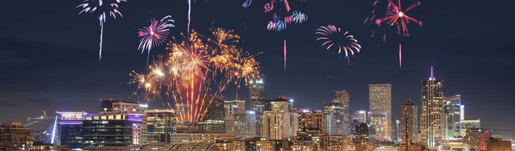 Fireworks Show Denver CO