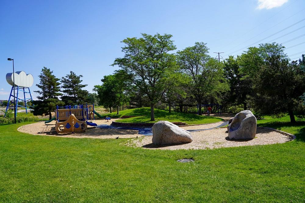 Gates Crescent Park Playground Denver CO