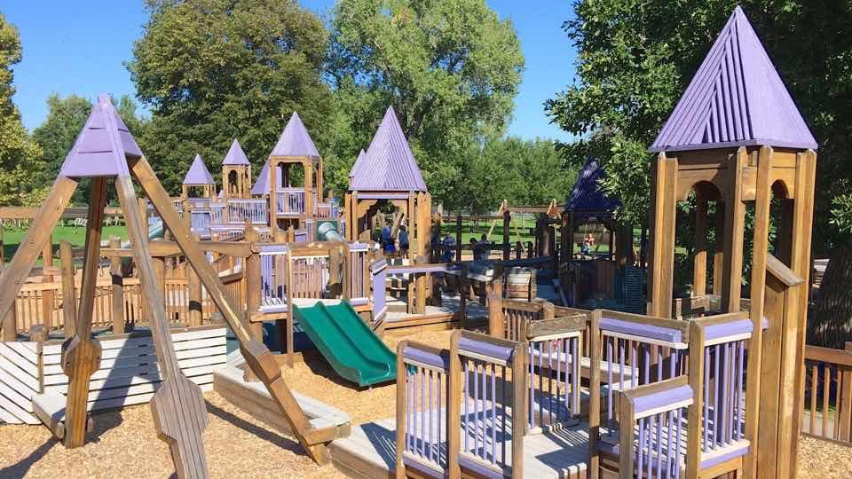City Park Playground Denver