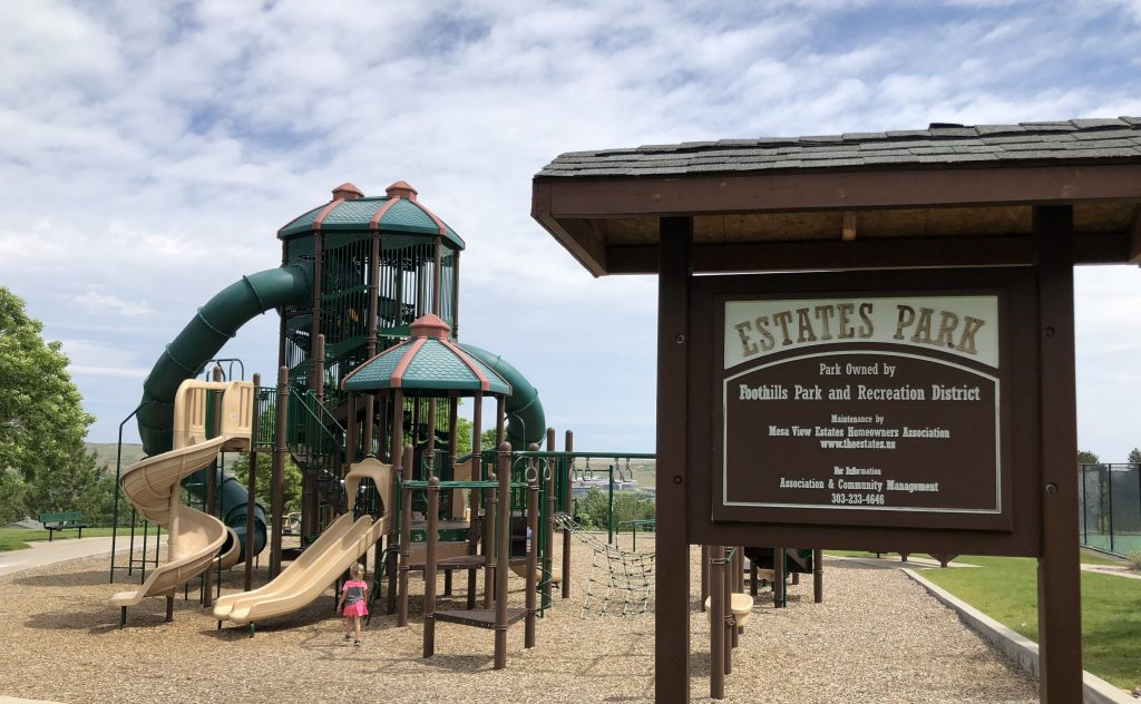 Golden Colorado's Estate Park Playground