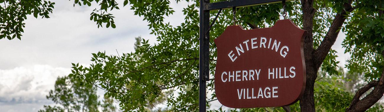 Cherry Hills Village Sign